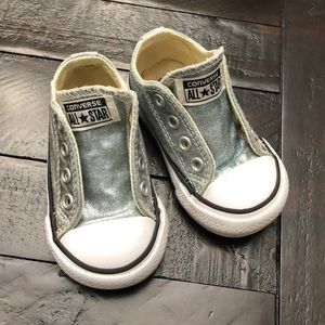 Converse All Star - Silver - Toddler Size 4
